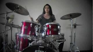 getlinkyoutube.com-Monster - Paramore (Drum Cover) - Rani Ramadhany