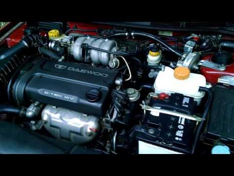 Нубира работа двигателя / Nubira 1999