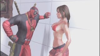 getlinkyoutube.com-Deadpool - Cutscenes/Funny Moments (Part 4) - Prison