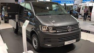 getlinkyoutube.com-Volkswagen T6 Platform 2017 In detail review walkaround Interior Exterior