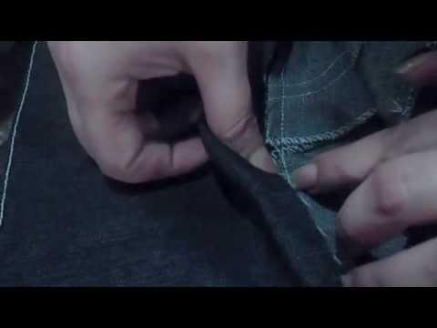 ✂ Como confeccionar el jeans levanta cola, marca cintura y achata panza