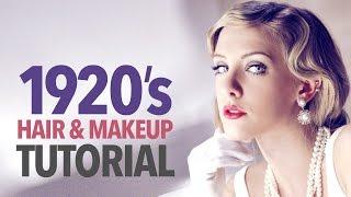 getlinkyoutube.com-1920s makeup & hair tutorial