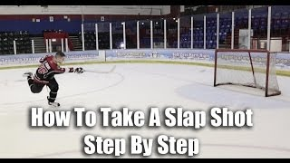 getlinkyoutube.com-How To Take A Slap Shot In Hockey Video Tutorial On Ice - Hockeytutorial.com