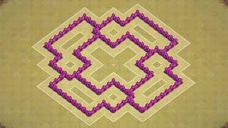 getlinkyoutube.com-تصميم قريه تاون هول لفل 6 للحرب: كلاش اوف كلانس