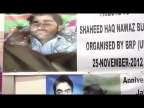 ‪Nawabzada Brahamdagh Bugti Speech Paying tribute on Martyr Haq Nawaz Bugti in London‬‏   YouTube