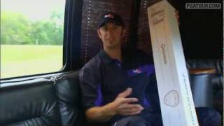 getlinkyoutube.com-Dustin Johnson's Special Delivery - 1 Millionth White TaylorMade Metalwood