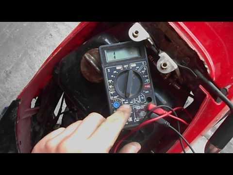 В скутере пропала зарядка. Как найти причину неисправности?