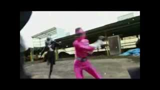 getlinkyoutube.com-Power Rangers Rail Force