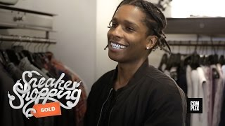getlinkyoutube.com-A$AP Rocky Goes Shopping With Complex At Maxfield
