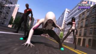 getlinkyoutube.com-MARVEL Future Fight : Rise of the Spider-Verse heroes!