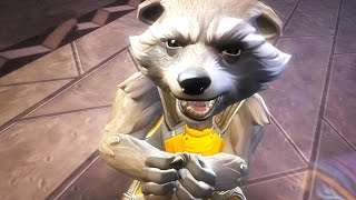 getlinkyoutube.com-Marvel: Contest of Champions - 4-Star ROCKET RACCOON Super Attack Review [iPad/Android]