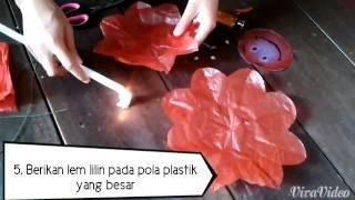 getlinkyoutube.com-Cara Membuat Bunga dari Kantong Plastik