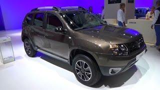 getlinkyoutube.com-2017 Dacia Duster Black Touch - Exterior and Interior - Paris Auto Show 2016
