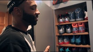 Joe Budden nous dévoile sa collection de sneakers