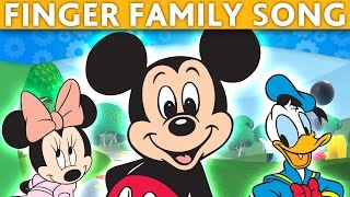 DADDY FINGER SONG Mickey Mouse Finger Family Song Father Finger