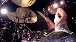 getlinkyoutube.com-Lindsey Raye Ward - Sia - Chandelier (Drum Cover)