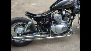getlinkyoutube.com-bobber virago 125 sound