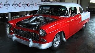 getlinkyoutube.com-1955 Chevrolet Bel Air Twin Turbo 1100 HP Street Car