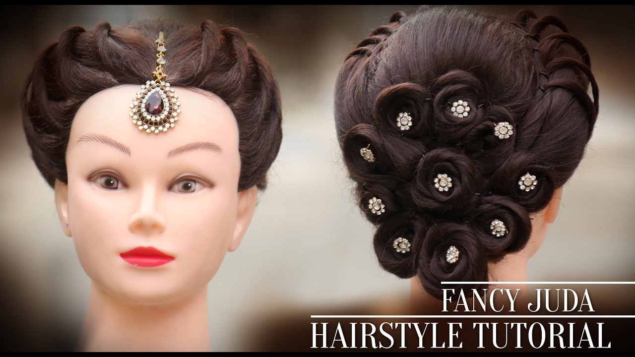 Download Thumbnail For Fancy Juda Latest Hairstyle 2018 Step By