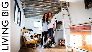 getlinkyoutube.com-The Tiny Housewives Tiny House