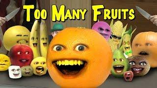 getlinkyoutube.com-Annoying Orange - TOO MANY FRUITS (Too Many Cooks Parody)