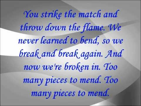Libby Weaver - Too Many to Mend Lyrics