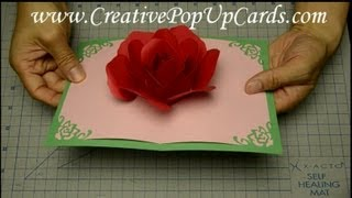 getlinkyoutube.com-Rose Pop Up Card for Mother's Day or Valentine's Day