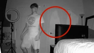 REAL GHOST CAUGHT ON CAMERA (WARNING: VERY SCARY)