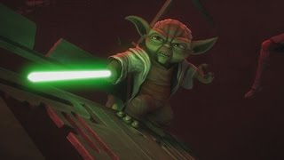 Star Wars: The Clone Wars - Yoda & Anakin vs. Dooku & Sidious [1080p]