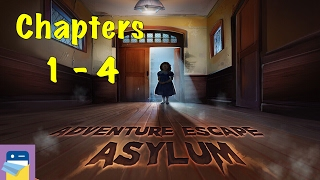 getlinkyoutube.com-Adventure Escape Asylum: Chapters 1, 2, 3, 4 Walkthrough Guide & iOS / Android Gameplay