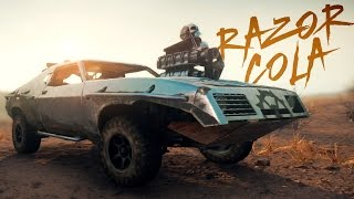 "getlinkyoutube.com-Mad Max Car Build : ""RAZOR COLA"""