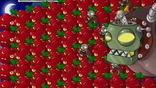 getlinkyoutube.com-CHERRY BOMB VS DR ZOMBOOS 100% HACK PLANTS VS ZOMBIES