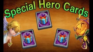 Opening 3 Special Hero Cards