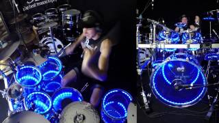getlinkyoutube.com-Taylor Swift - Blank Space - Drum Cover w/ Pearl Crystal Beat & Drumlite