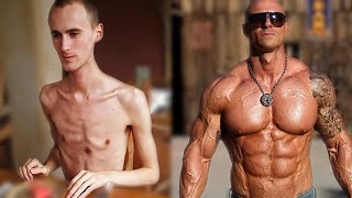 getlinkyoutube.com-From Skinny To Strong Muscular - Best Fitness Body Transformations in all history !!