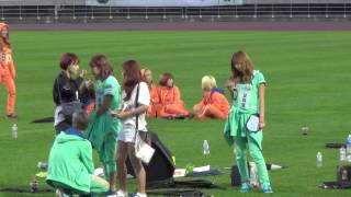 getlinkyoutube.com-20130903 A-PINK BoMi & NaEun & NamJoo & HaYoung @ Idol Sports Athletics Championships