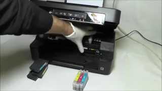 getlinkyoutube.com-Cartucce ricaricabili Installazione sulla stampante Epson XP-215