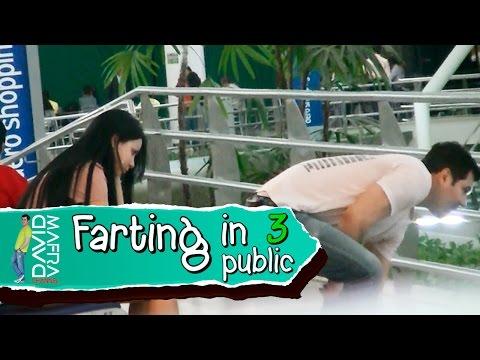 Farting in public 3 Prank / Zé dos peidos 3