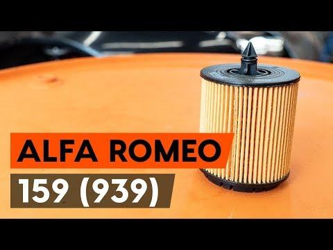 Где находится в Альфа Ромео 159 фильтр салона