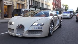 getlinkyoutube.com-Bugatti Veyron 16.4 Grand Sport on the road in London