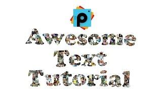 getlinkyoutube.com-PicsArt Editing Tutorials | Awesome Text Design Tutorial | Collage Photos Text PicsArt Manipulation