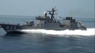 getlinkyoutube.com-110724_舞鶴地方隊展示訓練[10]ミサイル艇高速航行