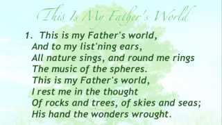 getlinkyoutube.com-This Is My Father's World (Baptist Hymnal #43)