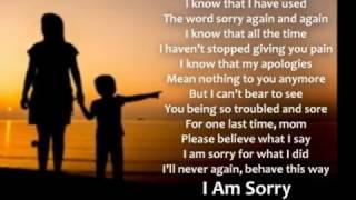 I am Sorry Mama width=