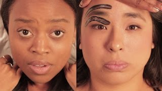 getlinkyoutube.com-Thoughts When You Get Your Eyebrows Waxed