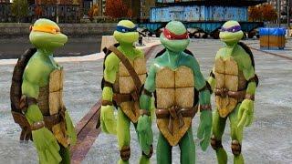 getlinkyoutube.com-Teenage Mutant Ninja Turtles vs Optimus Prime