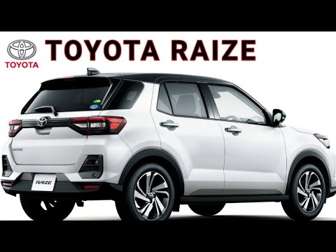 Toyota Raize SUV launching 2020