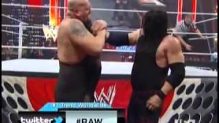 Kane Vs Big Show - Monday Night Raw (No DQ) - Full Match HD