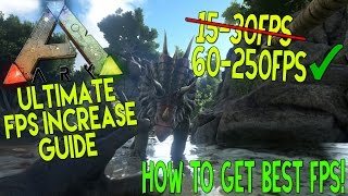 getlinkyoutube.com-ARK Survival Evolved: Dramatically increase performance / FPS with any setup!