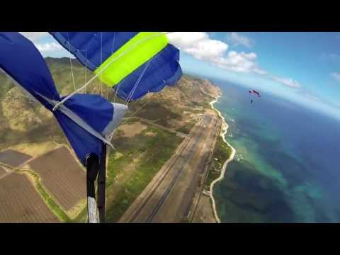 Skydiving in Paradise - July 2013 - GoPro 3 Black Edition